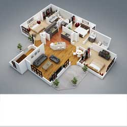 house plans with interior photos 2 bedroom apartment/house plans